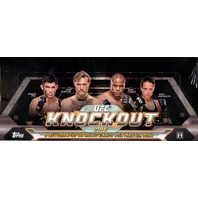 2016 Topps UFC Knockout Hobby 12 Box Case (Sealed)