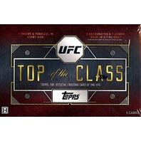 2016 Topps UFC Top Of The Class Hobby Box (Factory Sealed) (1 Pack/5 Cards)
