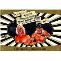 2016 Leaf Signature Series Wrestling Box (Sealed)