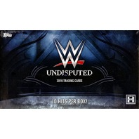 2016 Topps WWE Undisputed Hobby Box (Sealed)