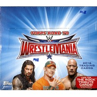 2016 Topps WWE Road To Wrestlemania Hobby Box (Sealed)