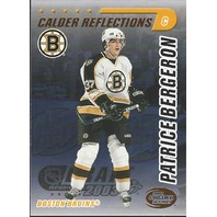 Patrice Bergeron Boston Bruins 2004 Calder Hockey Reflections /499
