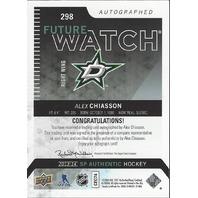 Alex Chiasson 2013-14 Future Watch Rookie Autograph /999