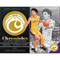 2017/18 Panini Chronicles Basketball 10 Hobby Box CASE (Sealed)