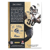 ZAC STACY 2013 Panini Contenders Rookie Ticket auto #192 St. Louis Rams