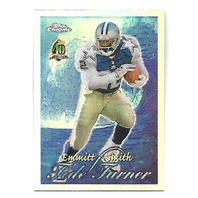 EMMITT SMITH 1996 Topps Chrome Tide Turners Refractor #TT11 Dallas Cowboys