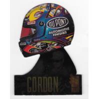Jeff Gordon NASCAR 1996 Press Pass VIP Head Gear Die-cut /9 Helmet