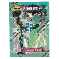 EMMITT SMITH 1995 Topps Finest Refractor #180 Dallas Cowboys