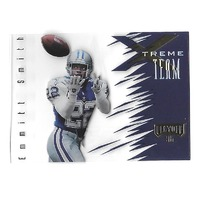 EMMITT SMITH 1996 Playoff Absolute Xtreme Team #XT02 Dallas Cowboys