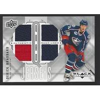 Derick Brassard 2009-10 Upper Deck UD Black Diamond Quad Jersey Ottawa Senators