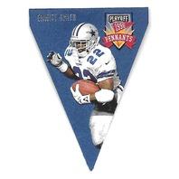 EMMITT SMITH 1996 Playoff Pennants Contenders die cut #22 Dallas Cowboys