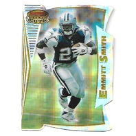 EMMITT SMITH 1996 Bowman's Best Cuts  Atomic Refractor #BC2 Dallas Cowboys