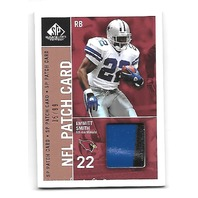 EMMITT SMITH 2003 SP Game Used Edition Patch Singles jersey /99