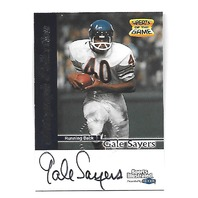 GALE SAYERS 1999 Fleer Sports Illustrated Greats of the Game auto Chicago Bears