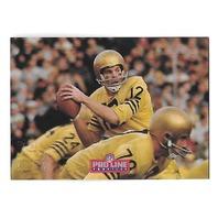 ROGER STAUBACH 1992 NFL Pro line Profiles auto #2 Dallas Cowboys autograph