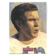 ROGER STAUBACH 1992 NFL Pro line Profiles auto #5 Dallas Cowboys autograph