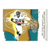 FRED TAYLOR 2002 Flair Franchise Favorites Jersey SP PR 300 Jacksonville Jaguars