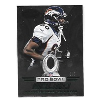 JULIUS THOMAS 2014 Panini Certified Pro Bowl Bound Green /5 Denver Broncos