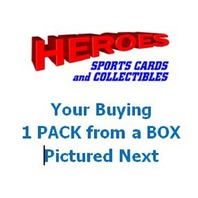 2017 Bowman Chrome Baseball Hobby Pack (5 Cards)(Sealed)(Random)