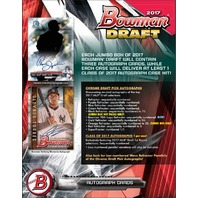 2017 Bowman Draft Picks & Prospects Baseball HTA Jumbo Hobby 8 Box Case (Sealed)
