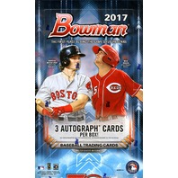 2017 Bowman Baseball HTA Jumbo Hobby 12 Pack Box (Sealed)