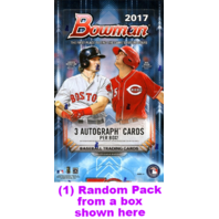 2017 Bowman Baseball HTA Jumbo Hobby 32 Card Pack (Factory Sealed)(Random)