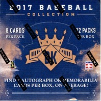 2017 Panini Donruss Diamond Kings Baseball Hobby 24 Box Master Case (Sealed)