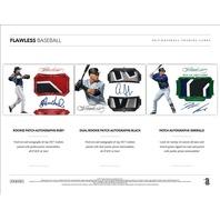 2017 Panini Flawless Baseball Hobby Box/Pack (10 Card s)(Factory Sealed)