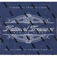 2017 Panini NT National Treasures Baseball Hobby 4 Box Case (Factory Sealed)