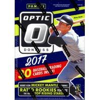 2017 Donruss Optic Baseball Blaster Box Sealed