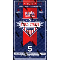 2017 Panini USA Stars & Stripes Baseball Hobby 5 Pack Box (Factory Sealed)