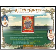 2017 Topps Allen & Ginter A&G Baseball Hobby 12 Box Case (Factory Sealed)