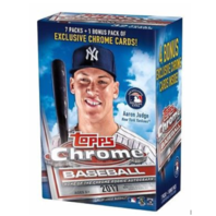 2017 Topps Chrome Baseball Blaster Box (Sealed)