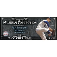 2017 Topps Museum Collection Baseball Hobby Box (4 Packs/Mini Boxes)(Sealed)