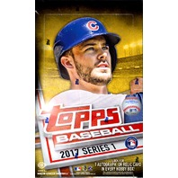 2017 Topps Series 1 Baseball Hobby 12 Box Case (Factory Sealed)