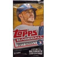 2017 Topps Series 1 Baseball HTA Jumbo Hobby 50 Card Pack (Factory Sealed)