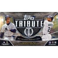 2017 Topps Tribute Baseball Hobby 6 Pack Box (Factory Sealed)