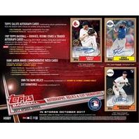 2017 Topps Update Series Baseball Jumbo Hobby Box Ship 10/18 Bellinger RC