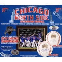 2017 Tristar Hidden Treasures Chicago North Side Autographed Baseball Hobby Box