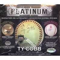 2017 Tristar Hidden Treasures Platinum Edition Autographed Baseball Hobby Box