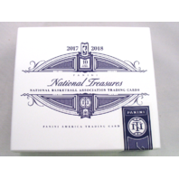 2017 Panini National Treasures NT Basketball Trading Cards Empty Cedar Cigar Box