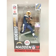Melvin Gordon Madden McFarlane Ultimate Figure Los Angeles LA Chargers Series 1