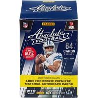 2017 Panini Absolute Football Blaster Box (Sealed)(8 Pack s)