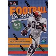 2017 Football Classics 8 Pack Blaster Box (Sealed) Hit Odds 1:3 boxes