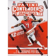 2017 Panini Contenders Draft Picks 7 Pack Blaster Box (Sealed)(42 cards/2 autos)