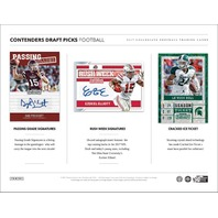 2017 Panini Contenders Collegiate Draft Football Hobby 6 Pack Box (Sealed)