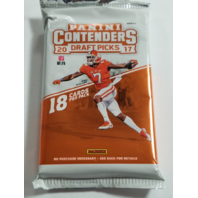 2017 Panini Contenders Collegiate Draft Football Hobby 18 Card Pack (Sealed)