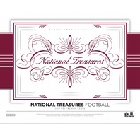 2017 Panini National Treasures Football 8 Card Hobby Box (Factory Sealed)