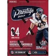 2017 Prestige Football 8 Pack Sealed Blaster Box look 4 exclusive memorabilia