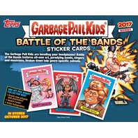 2017 Topps Garbage Pail Kids GPK Battle Of Bands Collector's Edition Hobby Box